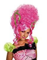 Decayed Couture Monster Bride Wig Pink One Size