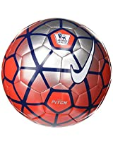 Nike EPL Pitch Football - 2016 Red/Silver