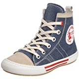 Ciao Bimbi Toddler Naking Hi-Top Canvas Trainer