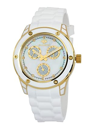 Wellington Damen-Armbanduhr Geraldine Analog Silikon WN506-286