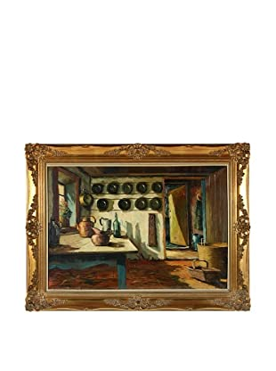 Borge Ball Odense Kitchen Framed Artwork
