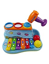 Fun & Colorful Xylophone Piano Pounding Bench