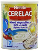 Nestle Cerelac Mixed Vegetables And Rice With Milk Stage 2 - 400 G 14.1 Oz Can Pack Of 4
