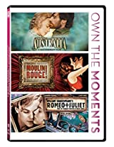 Own the Moments Pack Australia/Romeo Juliet/Moulin Rouge (Pack of 3)