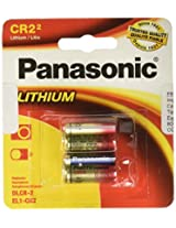 Panasonic 3-Volt Photo Lithium Cylinder 3000mAh Battery CR-2PA/2B