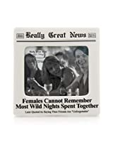 Enesco Really Great News by Lorrie Veasey Wild Nights Frame