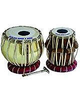 Surjan Singh & Sons Brass Tabla Set