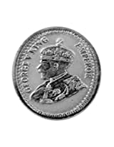 Antique King Emperor George V Coin 10gms In Pure Silver 999
