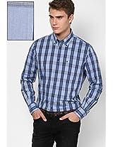 Dutch Navy-Pt / Shirt Blue Full Sleeve Casual Shirts
