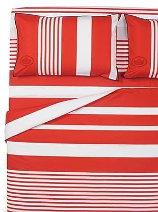 Ballantyne Home Completo Copripiumino Dream (bianco/rosso)