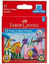 Faber-Castell School Series Water Color Pencils - 12 Shades