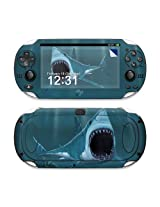 Great White Design Protective Decal Skin Sticker (Matte Satin Coating) For Sony Playstation Ps Vita Handheld