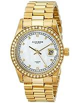 Akribos XXIV Men's AK488YG Diamond Quartz Bracelet Watch