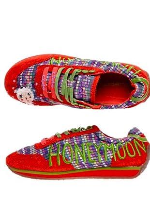 Custo Zapatillas (Rojo)