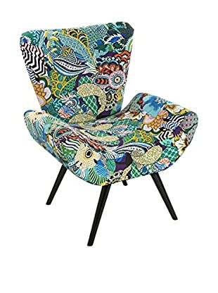 Mimma Sessel Tropical Patchwork