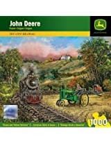 1000-Piece Green and Yellow Delivery Puzzle Art by Ted Blaylock
