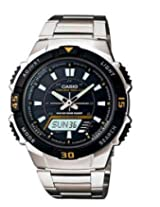 Casio Gents Watch AQ-S800WD-1EVDF, black, silver
