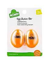 Nino Plastic Egg Shaker Pairs Orange