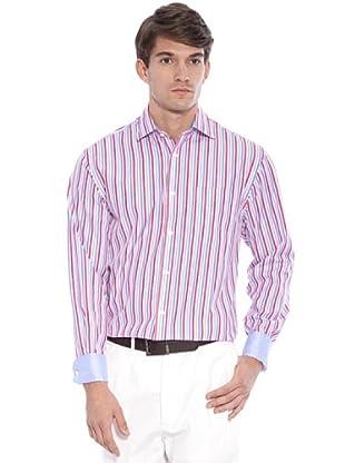 Hackett Camicia Righe (Rosa/Bianco)