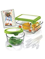 Anchor Hocking 10-Piece Storage Bowl Set with TrueFit TM See-Thru Lid