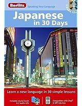 Berlitz Language: Japanese In 30 Days (Berlitz in 30 Days)
