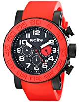 red line Men's RL-50052-BB-01-RDS Xlerator Analog Display Japanese Quartz Red Watch