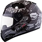 Ls2 Ff50 Comic Full Face Motorcycle Helmet (Black)
