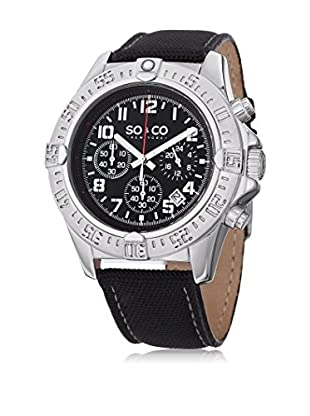 SO & CO New York Reloj de cuarzo  Negro 44 mm