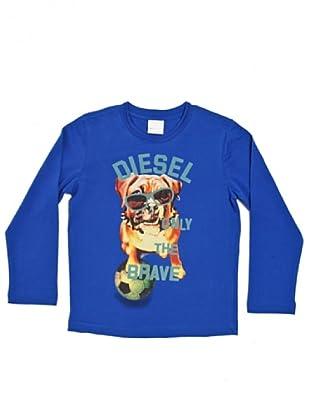 Diesel Kid Longsleeve Takeo (Blau)