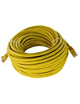 Shaxon UL724M850YL-7FB RJ45 to RJ45 Category 6 Patch Cord - Yellow, 50 Feet