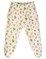 Snuggles Baby Leggings With Footies (Bp10031780 -Yellow -3 To 6 Months)