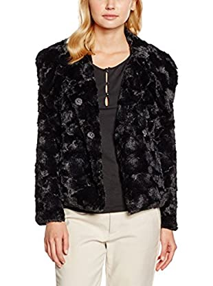 Y By YUMI Giacca in Ecopelliccia Textured Faux Fur