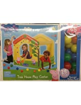 Peppa Pig Inflatable Tree House Play Center