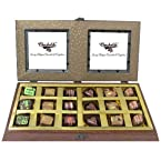 Belgium Chocolates - 18pc Gold Belgium Chocolate Box â€