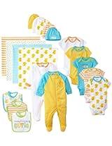 Gerber Unisex-Baby Newborn World's Cutest Baby 19 Piece Gift Set