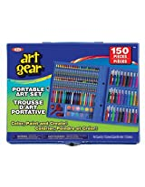 Ideal 150-Piece Art Gear Set