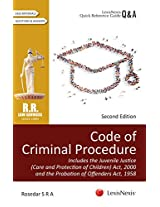 Code Of Criminal Procedure-  Includes The Juvenile Justice (Care And Protection Of Children) Act, 2000 And The Probation Of Offenders Act, 1958