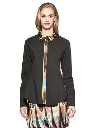 Annarita Camisa Florentine (Negro)
