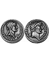 Marc Antony & Cleopatra, A Famous Romance, Famous Romans Coin Collection (# 3 S)