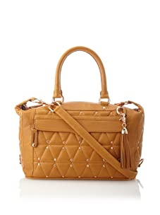 Rebecca Minkoff Women's Quilted Mab Handbag, Almond