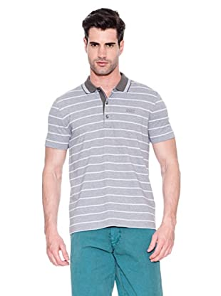 Hugo Boss Polo Janis (Gris / Blanco)