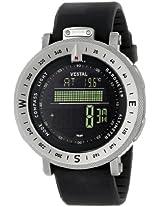 "Vestal Men's GDEDP01 ""The Guide"" Stainless Steel Digital Watch"