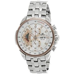 Casio Edifice Tachymeter Chronograph Multi-Color Dial Men's Watch - EF-558D-7AVDF (ED438)