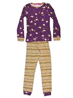 Custo Pijama Namaste Monkey (morado)