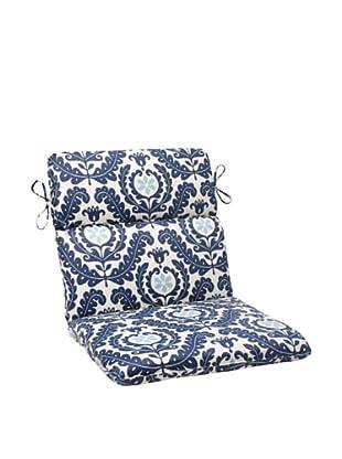 Waverly Sun-n-Shade Meridian Pool Chair Cushion (Navy/Aqua/Cream)