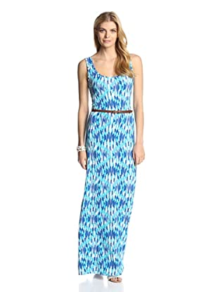 Tart Women's Mary Maxi (Blue Geo)