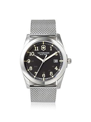 Victorinox Men's 241585 Infantry Silver/Black Stainless Steel Watch