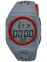 Puma Digital Grey Dial Unisex Watch - PU910991006