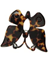 Caravan Butterfly In Your Hair Oh Yes Handmade Engraved Barrette In Tortoise Shell Or Tokyo