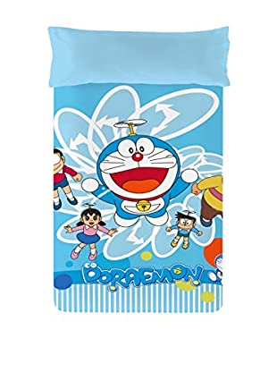 Euromoda Licencias Juego de Funda Nórdica  Doraemon Volador